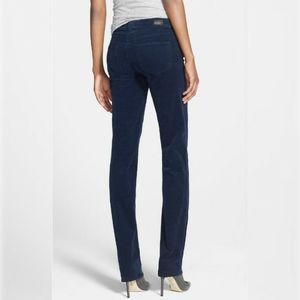 PAIGE 'Skyline' Straight Leg Corduroy Pants-Women